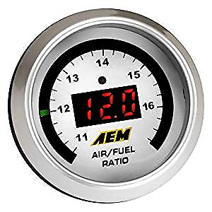 AEM Digital Wideband UEGO Gauge w//o Sensor aem30-4110NS