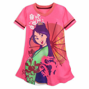 de258b09d6 Image is loading NWT-Disney-Store-Girl-Nightgown-Nightshirt-Mulan-5-