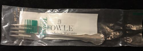 Sterling Silver Flatware Towle French Provincial Salad Fork Original Sealed