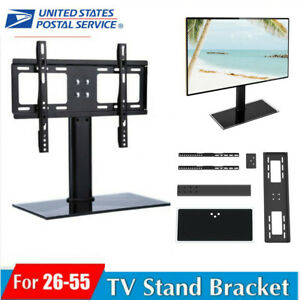 Table-Top-TV-Stand-Mount-Bracket-for-32-37-40-42-43-50-55-LED-LCD-Screen-Plasma