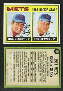 Details About Lot Of 25 Reprint 1967 Topps 581 Tom Seaver Rookie Card Mets