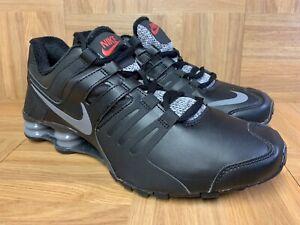RARE🔥 Nike SHOX Current Black Leather