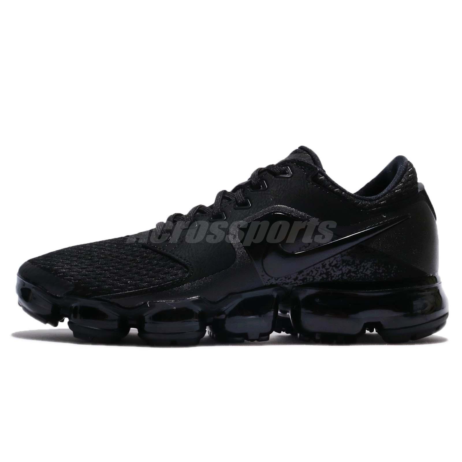 official photos 77e4d 4b9bf WMNS Nike Air vapormax Malla Triple Triple Triple Negro Mujer running Shoes  Sneakers ah9045-002 estacional de recortes de precios, beneficios de  descuentos ...