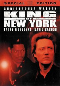 King-of-New-York-Christopher-Walken-David-Caruso-Special-Edition-2-Disc-DVD
