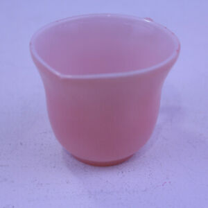 Replacement-Child-039-s-Tea-Set-CREAMER-Hazel-Atlas-Moderntone-Pink-Milk-Glass