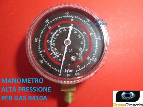 MANOMETRO ALTA PRESSIONE PER GAS REFRIGERANTE GAS R410A FREON 70 mm