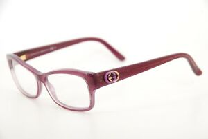 72c5d1a0e27 Image is loading New-Authentic-Gucci-GG-3203-YHP-Transparent-Violet-