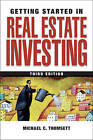 Getting Started in Real Estate Investing by Michael C. Thomsett (Paperback, 2009)