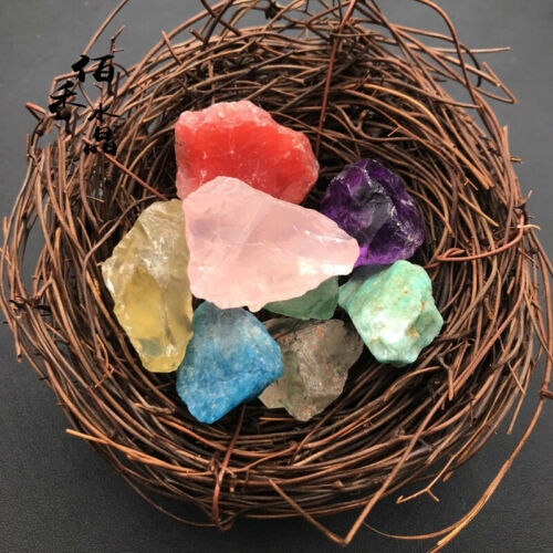 Colorful Natural Fluorite Crystal Fluorite Quartz Healing Treatment Mineral Gift