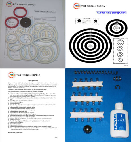 1969 Williams Smart Set Pinball Machine Tune-up Kit