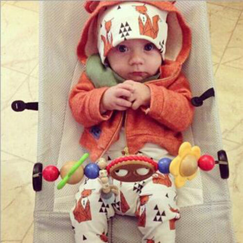 Toddler Kids Girl Boy Baby Infant Fall Winter Warm Cotton Hat Beanie Fashion Cap