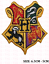 harry-potter-iron-on-patch-Gryffindor-slytherin-hufflepuff-ravenclaw-house-badge