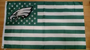 c99024de0 Image is loading Philadelphia-Eagles-stars-amp-stripes-3x5-American-Flag-