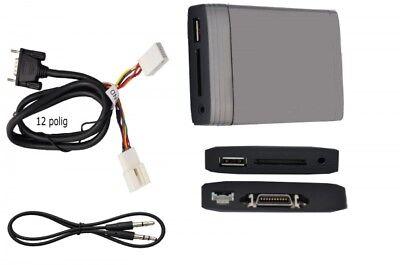 USB SD AUX adaptador cambiador Interface mp3 adecuada para VW Jetta 5 tipo 1k5 2005-10