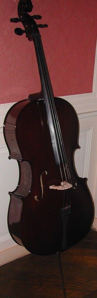 Violoncelle d'étude NAUTILE neuf 4 4 + housse + archet