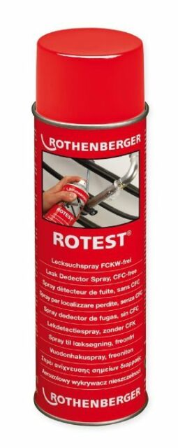 Rotest Lecksuchspray 400 ML Di Rothenberger