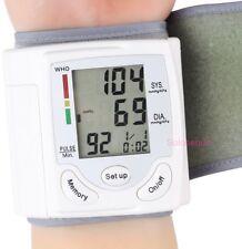 TENSIOMETRO PULSOMETRO DIGITAL MUÑECA Wrist Blood Pressure Monitor Tensiometer !