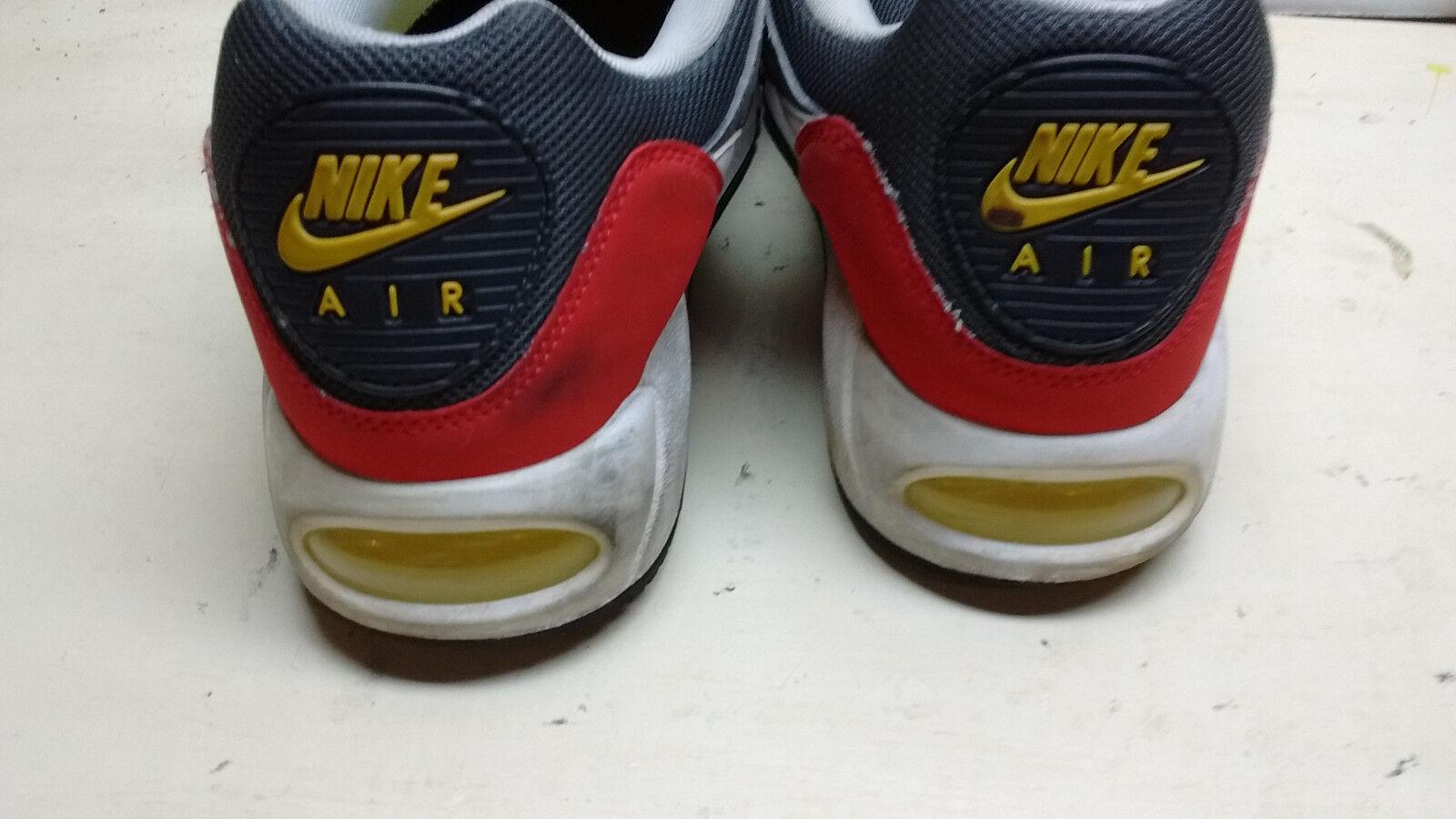 Nike air max 2012 uomini red gray escursionismo scarpe atletico correndo escursionismo gray sport scarpa 10 m 0a65cf