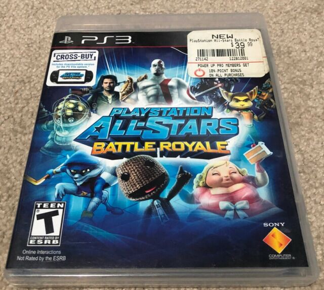 Playstation All-Stars Battle Royale PS3 🇦🇺 EOFY TOY SALE 🕹