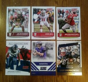Incredible-12-Card-Lot-of-2016-Score-Football-W-Rookies-amp-Inserts-w-Ramsey-RC