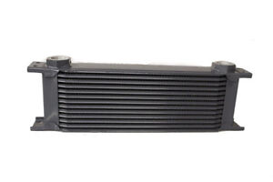 Details about obp Aluminium 22mm Universal Female 13 Row Oil Cooler OBP13ROW