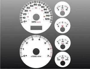 1999-2001-Jeep-Grand-Cherokee-Dash-Cluster-White-Face-Gauges-99-04