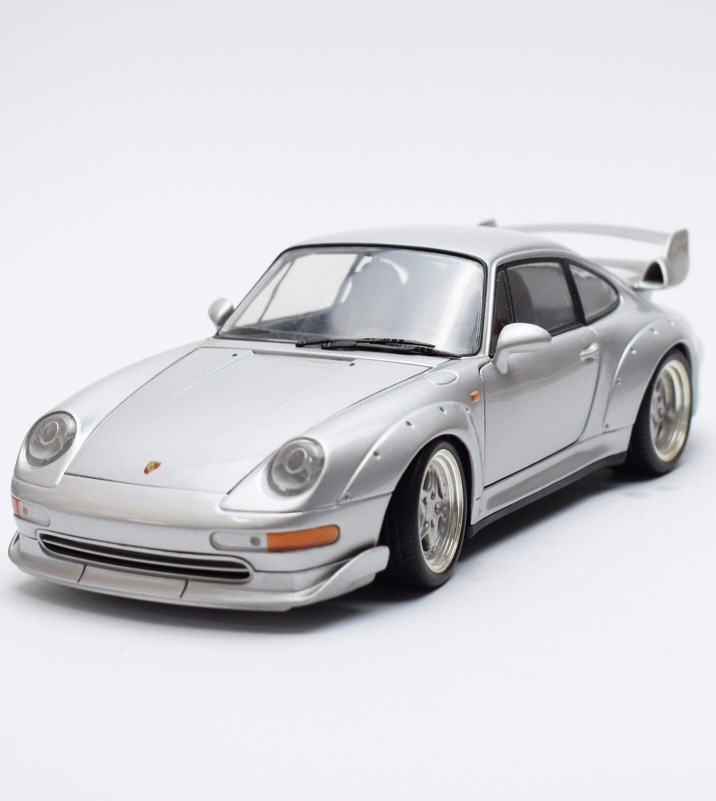 ventas en linea Ut Porsche 911 GT auto deportivo en plata plata plata lacados, 1 18, x008  mejor servicio