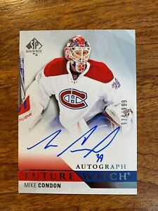 MIKE-CONDON-254-934-999-RC-2015-16-SP-Authentic-RC-Future-Watch-Auto-FWA-2015
