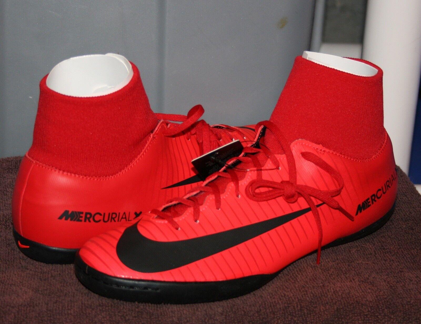 Nike MERCURIALX victoria VI DF IC US 11.5 EU 45.5 Para Hombre Zapato De Fútbol Indoor