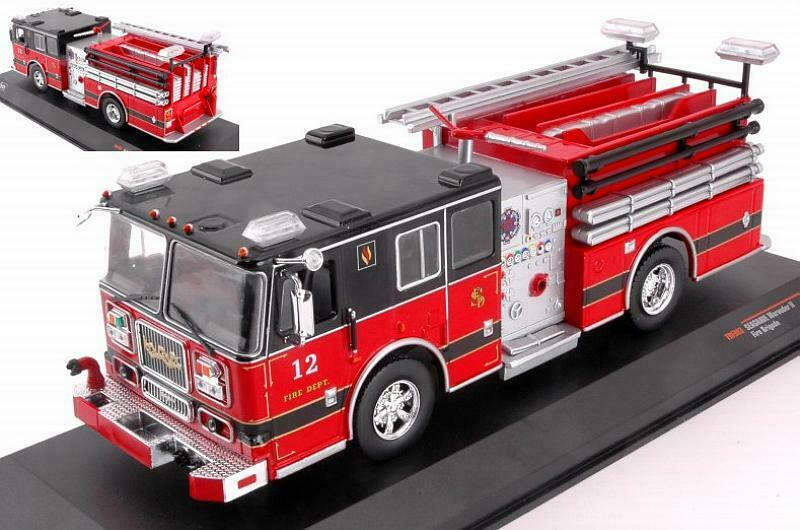 Ixo Seagrave - Marauder II tanker truck brandweer fire 1 43