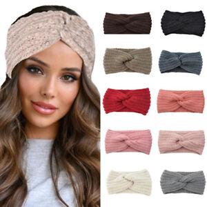 Stirnband  für Damen in 4 Farben mit Schleife Ohrenschutz Mütze
