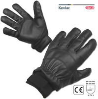 Protec Safe Search slash and needle resistant leather and kevlar search gloves