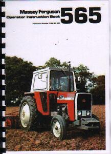 massey ferguson 565 tractor operator instruction manual book ebay rh ebay ie massey ferguson 65 manual pdf free massey ferguson 565 workshop manual