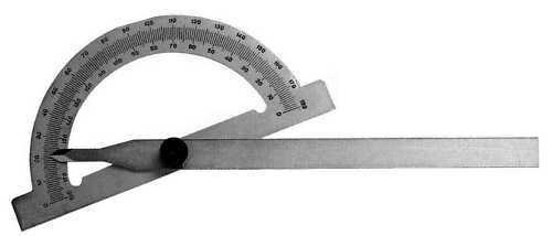 Gradmesser 80 x 120 mm Winkelmesser NEU