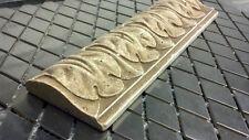 Italian roman look light/dark Travertine tile listello chair rail crown border