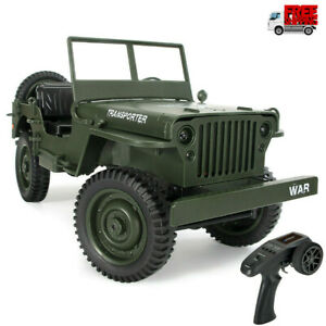 CES JJRC Q65 2.4G 1//10 Rc Car Military Truck Rock Crawler 4WD Off-Road Vehicle A