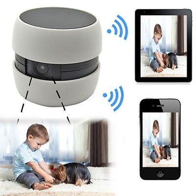 Mini Wireless Wifi Surveillance Camera IP Remote Cam For iOS Android Phone