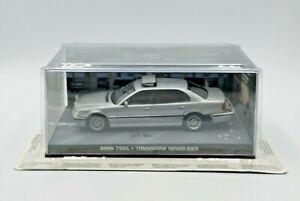Fabbri-James-Bond-007-BMW-750iL-manana-nunca-muere-Diecast-Escala-1-43-de-Coche-Modelo