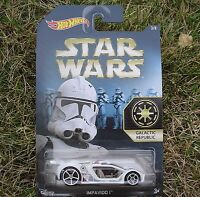 2015 Star Wars 3/8 Galactic Republic Hot Wheels Impavido 1 Dfv71 Sealed