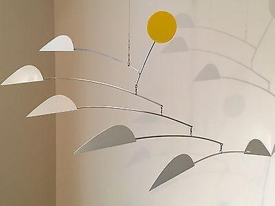 HANGING MOBILE Modern Art Sculpture Mid-Century Mobile SeaBIRDS