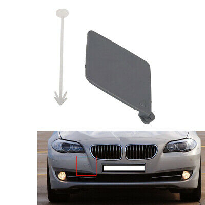 Car Rear Bumper Tow Hook Eye Cover For BMW F10 F18 10-13 Plastic