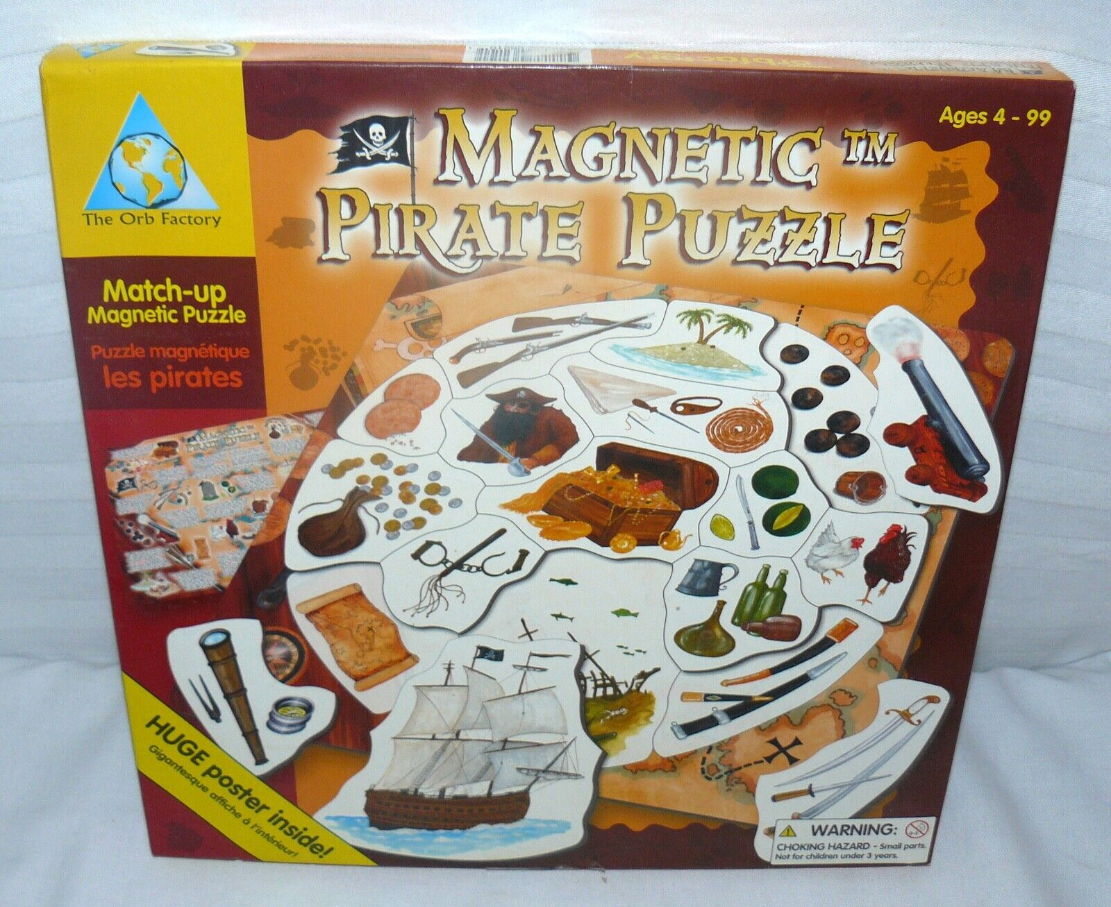 The Orb Factory Magnetic Pirate Puzzle