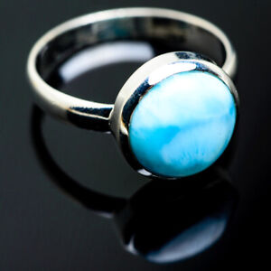 Larimar 925 Sterling Silver Ring Size 12 Ana Co Jewelry R994398F