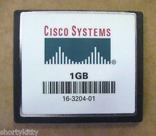 1 GB GENUINE CISCO COMPACT FLASH CF MEMORY CARD 1841 2801 2811 2821 2851 3745