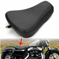 Leather Driver Solo Seat Cushion For Harley Sportster Xl 883 72 1200v 48 1200x