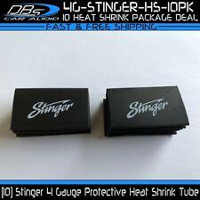 10 4 Gauge Stinger Heat Shrink Protective Tubing 4ga Black Tube Plastic Sleeve