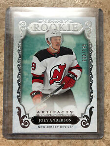 18-19-UD-Upper-Deck-Artifacts-Rookie-RC-RED198-JOEY-ANDERSON-799