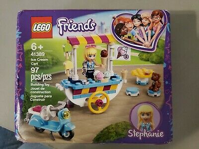 Brand new and sealed LEGO 41389 Friends Ice Cream Cart Playset with Stephanie