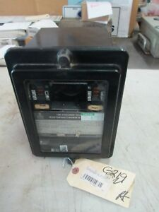 General Electric Time Overcurrent Relay GE IAC51B54A Inverse Type IAC 60Hz Used