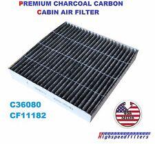 C36080 CARBONIZED CABIN AIR FILTER for HONDA Fit Insight CR-Z HR-V 09-16 CF11182
